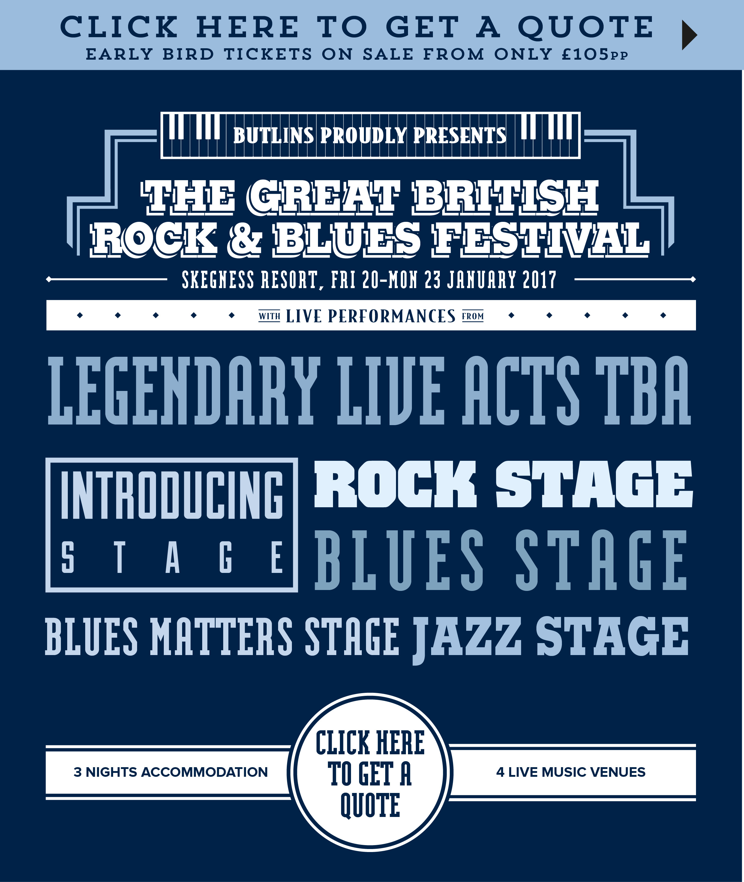 Live Music Weekends - The Great British Rock and Blues Festival