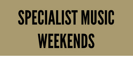 Butlins Live Music Weekends - Specialist Music Weekends