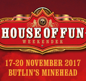 Madness House of Fun Weekender