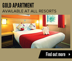 Butlins Live Music Weekends Gold Apartments